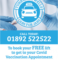 Cabs for Jabs – free support for older people