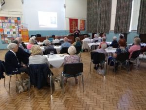 Fire and scam prevention session